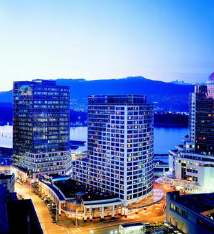 Fairmont Waterfront hotel Canada